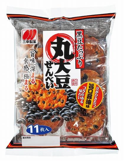 丸大豆せんべい旨口醤油味